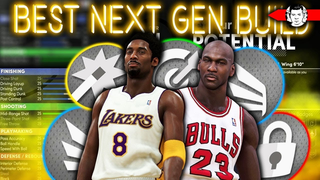 NBA 2K21 Next Gen Michael Jordan Build