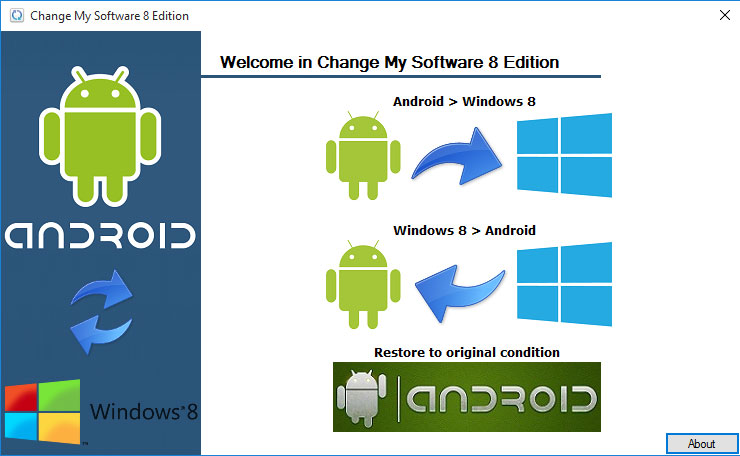 Download Change My Software 8 Edition