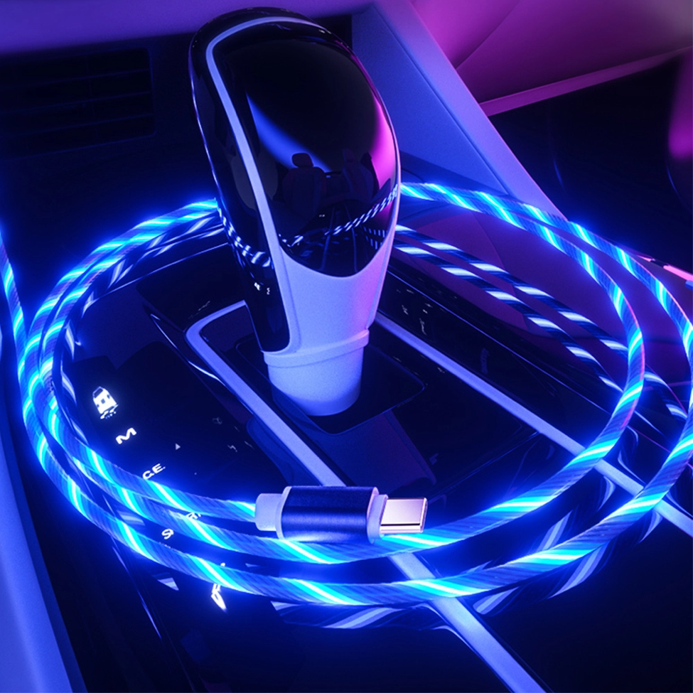 The light-up charging cable: