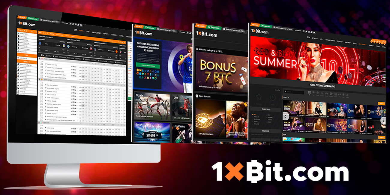 The convenience of making a crypto bet on 1xBit