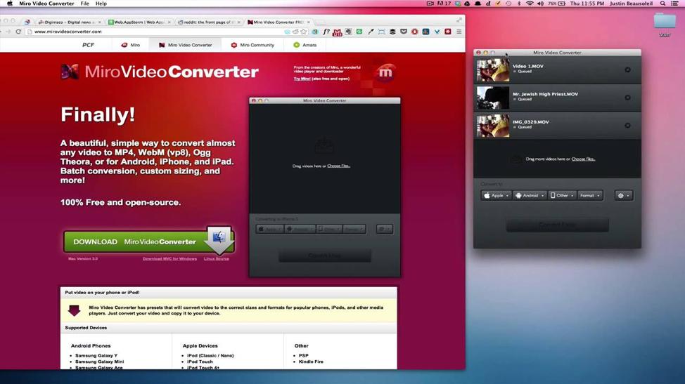 Miro Video Converter Free