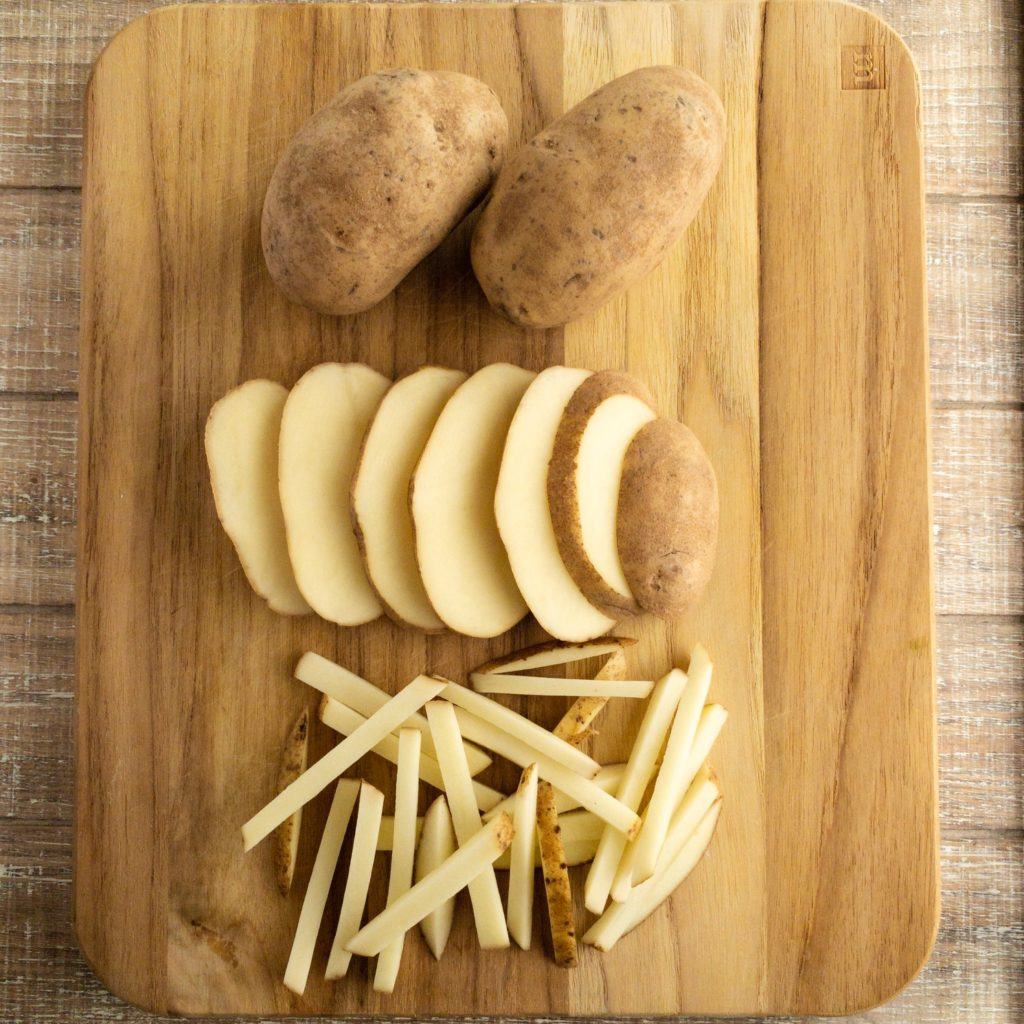 How to Cut Potato French Fries